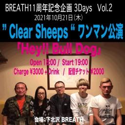 """ Clear Sheeps "" ワンマン公演"
