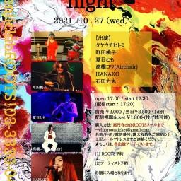 10月27日(水)「Antinomy night」